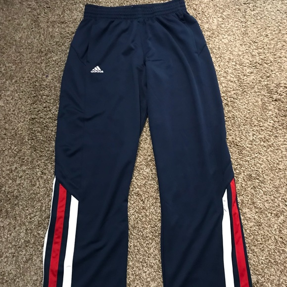 789cf96534c adidas Other - Red White and Blue Adidas Joggers